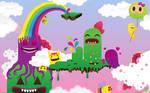 Monsterland wallpaper