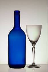 Bottle and Glass