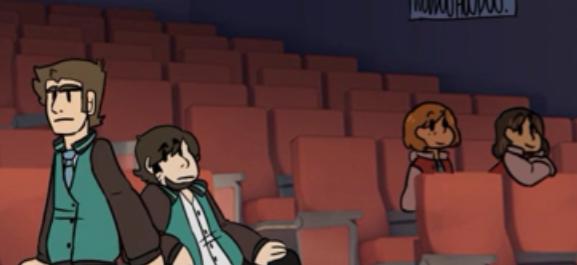 Jon and Shane animation!! by Greenwhitetiger