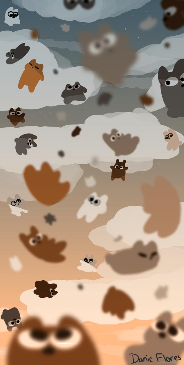 42 Acsending Bears by Greenwhitetiger