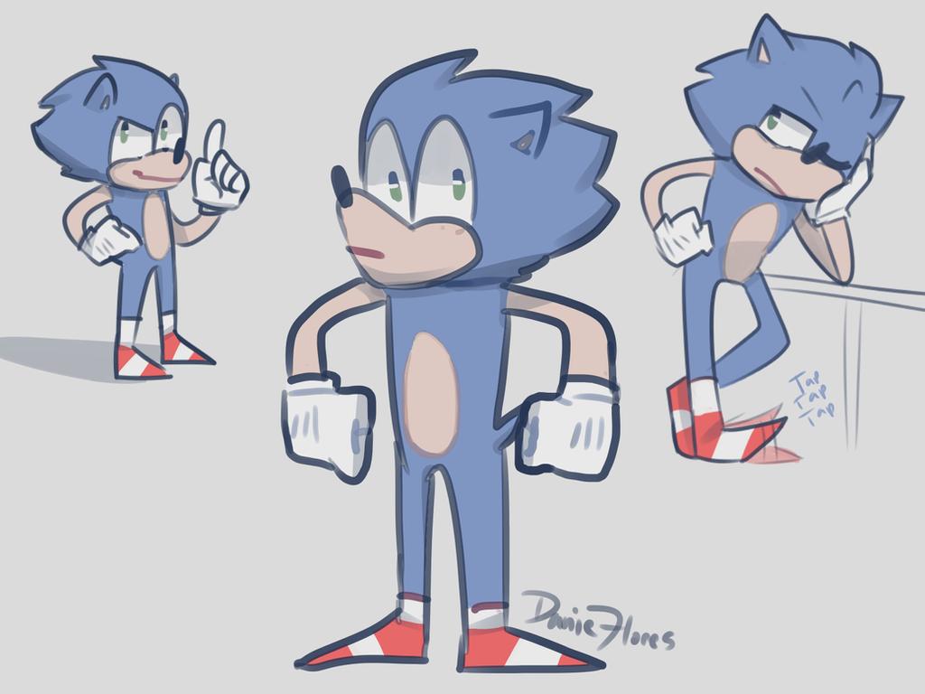 Sonic doods by Greenwhitetiger