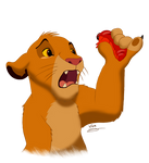 Fan Art - Small Simba