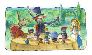 Tea Party by rocketgirl85