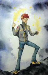 He's Electrifying! by rocketgirl85