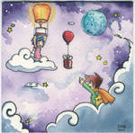 Rocketgirl and Starboy: Gifts From Afar