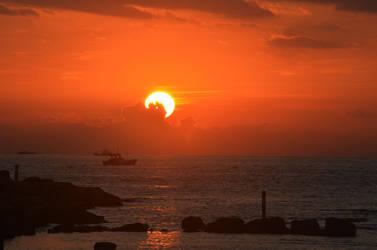 Sunrise from Heping Island II
