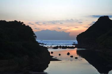 Sunrise from Heping Island III