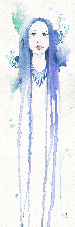 Blue Girl by rocketgirl85