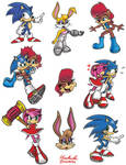 Sonic Characters 5