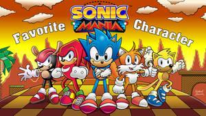 Favorite Sonic Mania Character? - Thumbnail