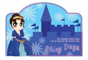 'Shiny Days' Sticker by m4pple