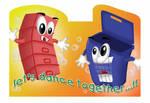 'Dance Together' Sticker