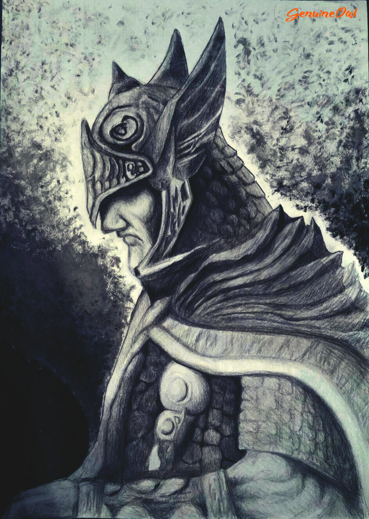 The Elder Scrolls Tiber Septim Talos by GenuineOwl