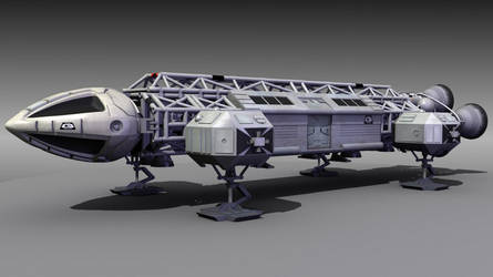 SPACE 1999 EAGLE BLENDER 3D