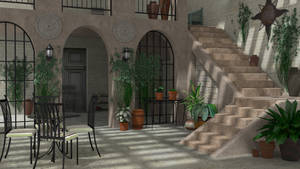 Courtyard (Blender Cycles)