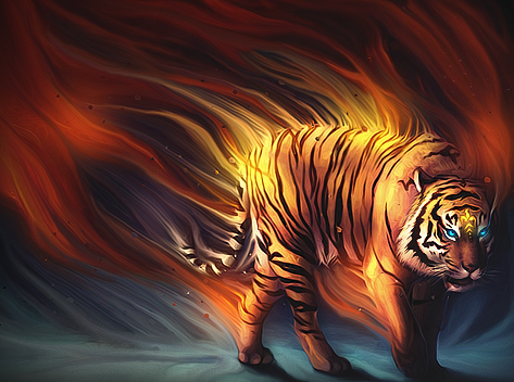 Tiger smudge