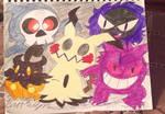 Inktober 2018: Ghost Pokemon