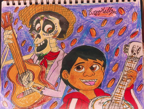 Coco: Hector and Miguel by brookellyn