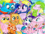 MLP Stallion version: The Magic of friends Grows by brookellyn