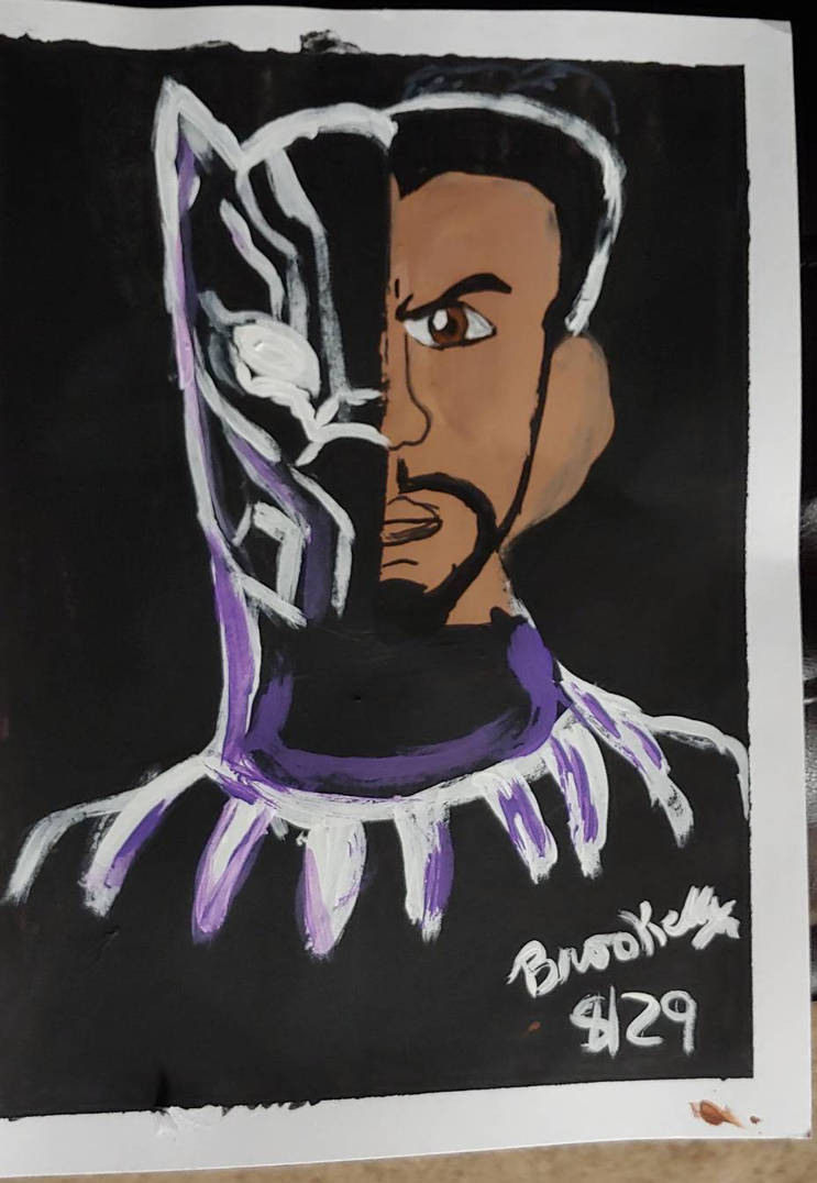 Rip Chadwick Boseman Black Panther By Brookellyn On Deviantart