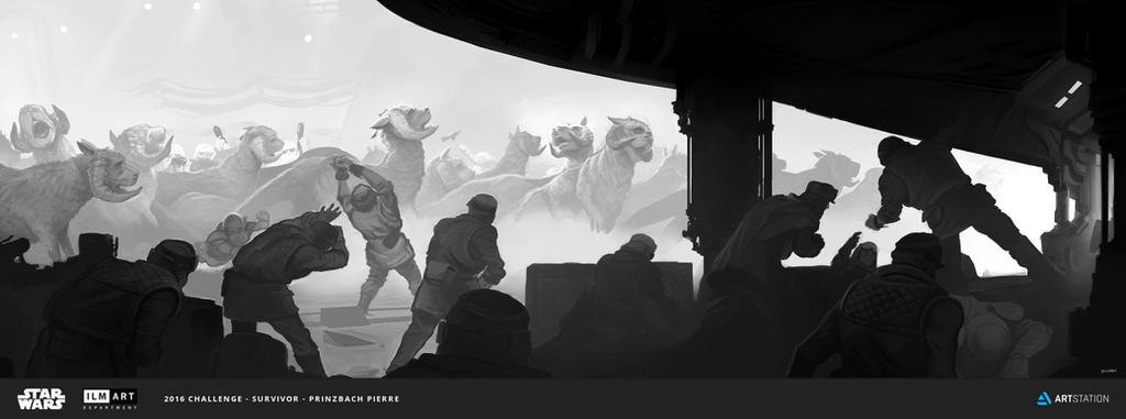 The Job - ILM Challenge 2016 by prinzbach