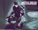 Solid Snake in Shadow Moses