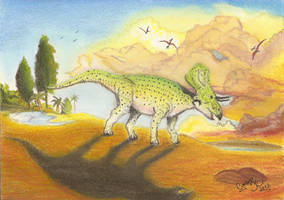 Zuniceratops by GregoryFerreira