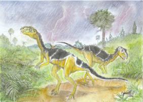 Gasparinisaura  storm :) by GregoryFerreira