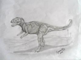 Gasosaurus by GregoryFerreira