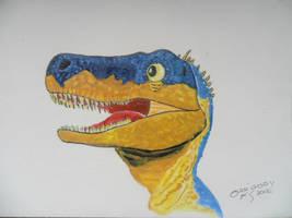 Herrerasaurus by GregoryFerreira