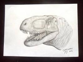Abelisaurus by GregoryFerreira