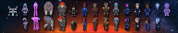 Mass Effect Chronicles Sprites by derektye05