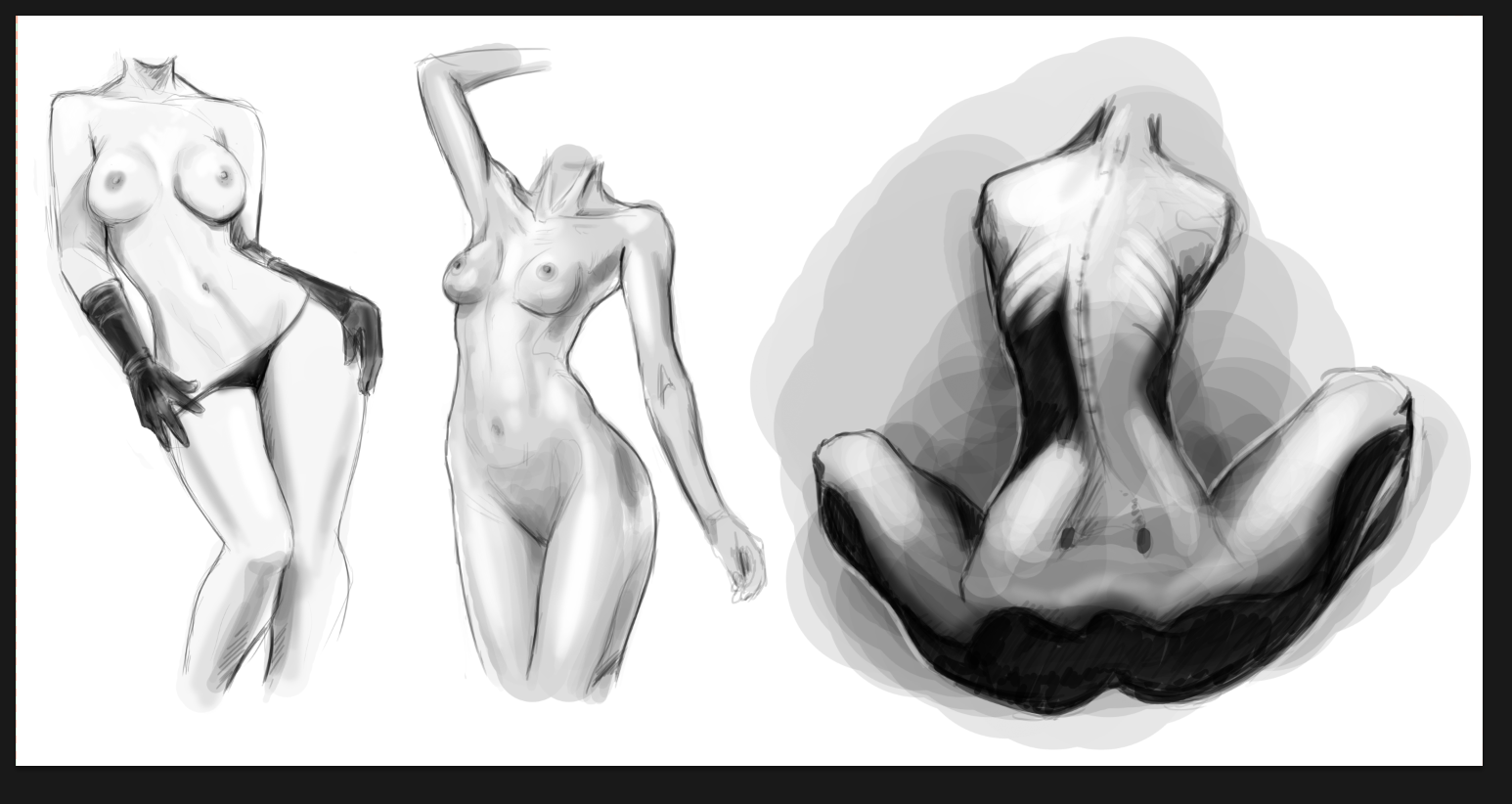 Female anatomy study by Solfei on DeviantArt