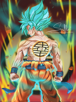 the original super saiyan by Solfei