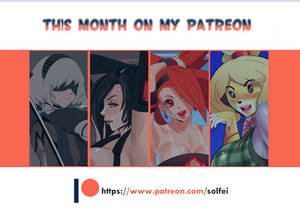 YOU CAN SUPPORT ME ON PATREON!