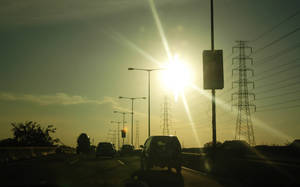 Sunlight Over the Highway by XaliberDeathlock
