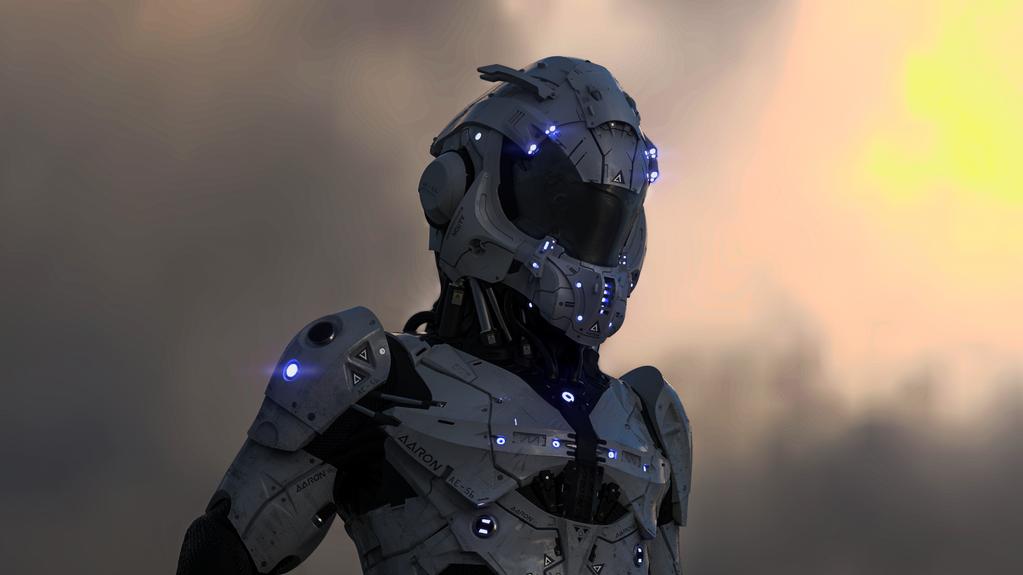 Aaron Exploration Suit by LuboxArt