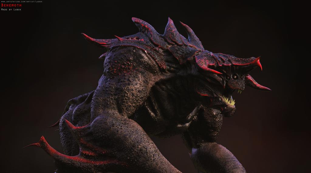 Behemoth by LuboxArt