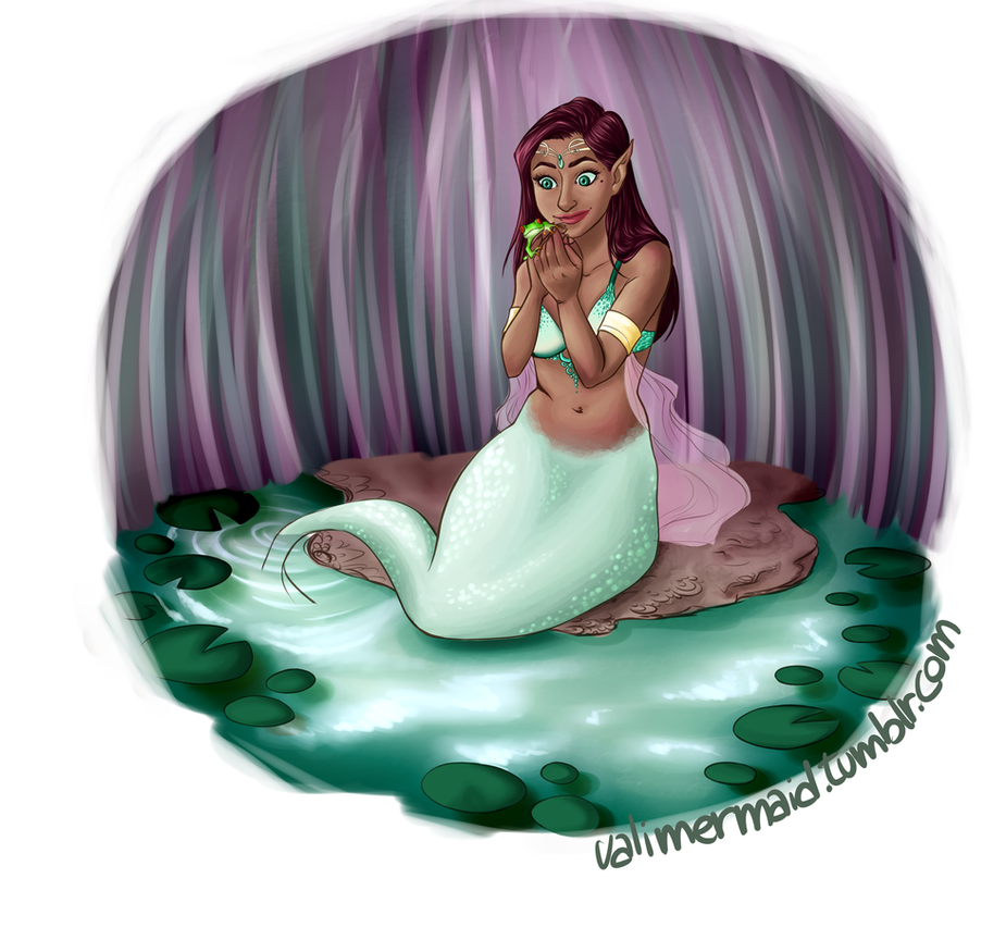 Pond Mermaid by valimermaid95