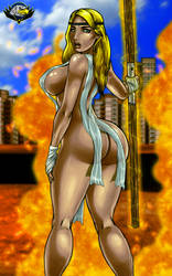 Alexanthya    The Superior Blonde by CarbertArtwork
