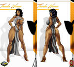Thunder Woman fashion show 2  by CarbertArtwork