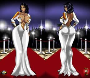 Thunder Woman elegant dress