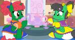 sissy play house tea time(evilfrenzy)