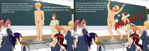 Correction center for males by Pierrerene