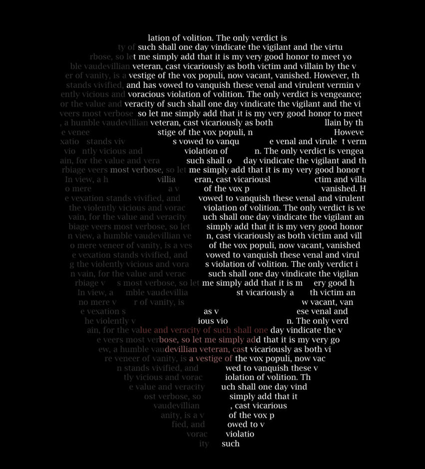 V for Vendetta by GlassArrow
