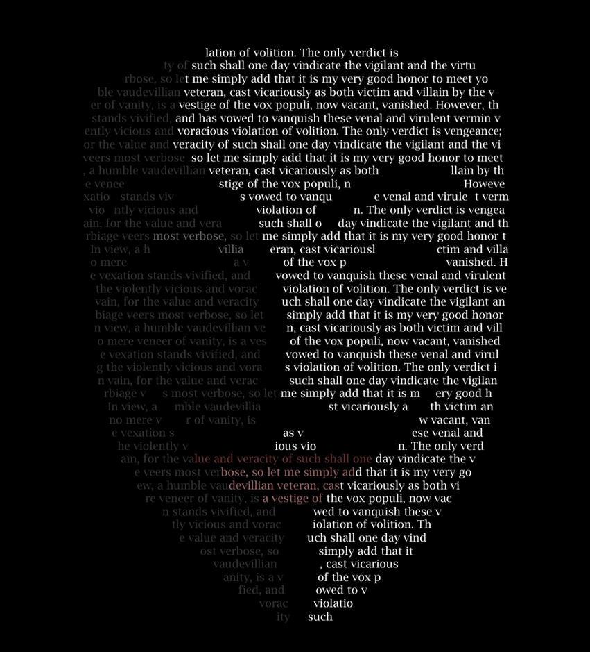 V for Vendetta by GlassArrow