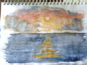 Sketchbook Sunset