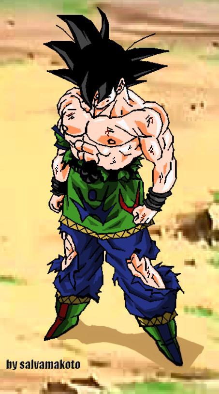 Goku VS Dave Goku_af_by_salvamakoto_by_salvamakoto