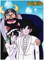 la boda de goku by salvamakoto
