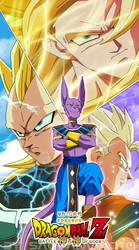 DBZ Battle of gods by salvamakoto